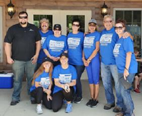 agency employees volunteering